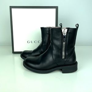 GUCCI Girl's Moto boots